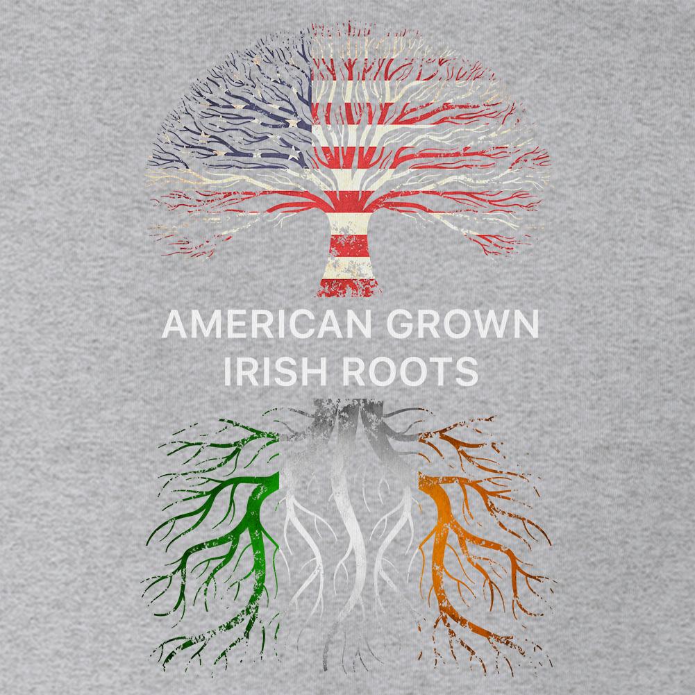 AMERICAN GROWN IRISH ROOTS Mens T-shirt Ireland St Patricks Day ...